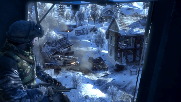 Looking down from on high - Battlefield Bad Company 2