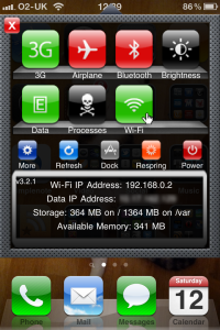 SBSettings - easy access to loads of options