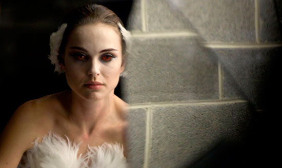 "Natalie Portman in Black Swan - ""properly mental"""