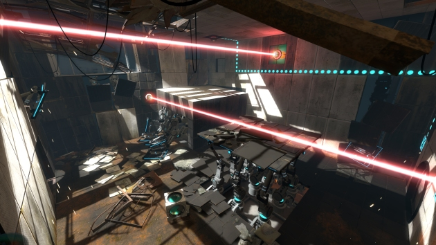There are lots of new mechanics to get to grips with in Portal 2's test chambers