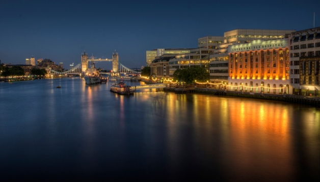 Tower Bridge, HMS Belfast and London Bridge Hospital