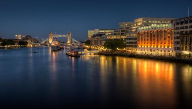 Tower Bridge, HMS Belfast and London Bridge Hospital
