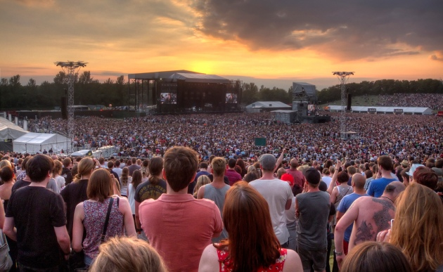 Foo Fighters Sunset HDR